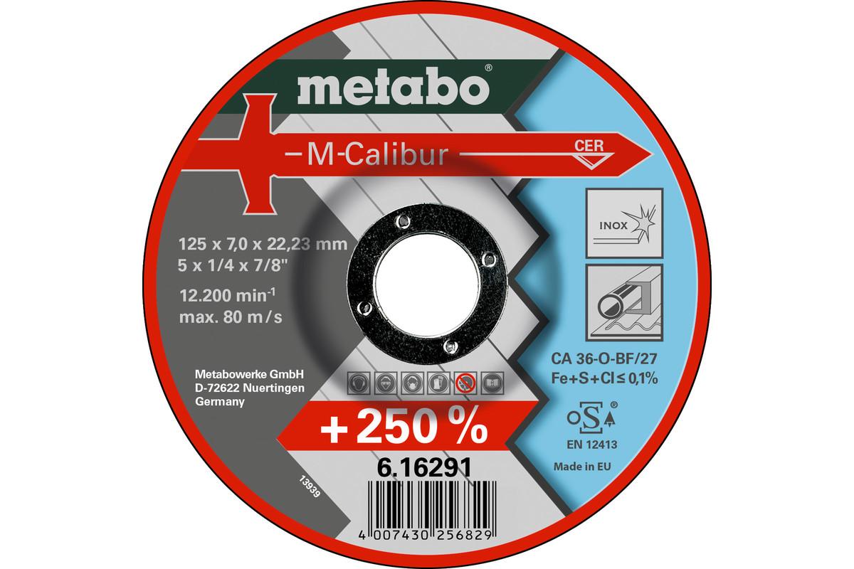 M-Calibur 125 x 7,0 x 22,23, Inox, SF 27 (616291000)