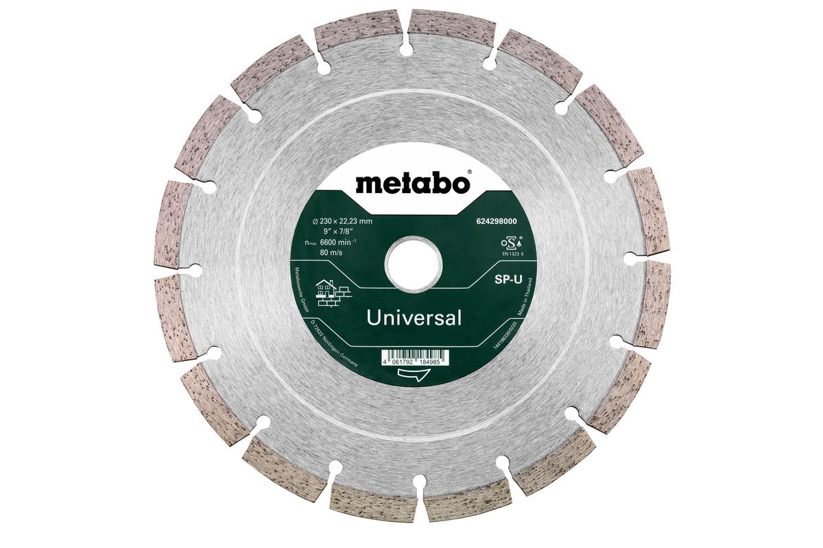 Алмазный отрезной круг 230x22,23мм, «SP-U», универсальный «SP» B (624298000)