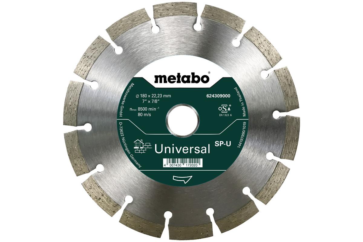 Алмазный отрезной круг 180x22,23мм, «SP-U», универсальный «SP» (624309000)