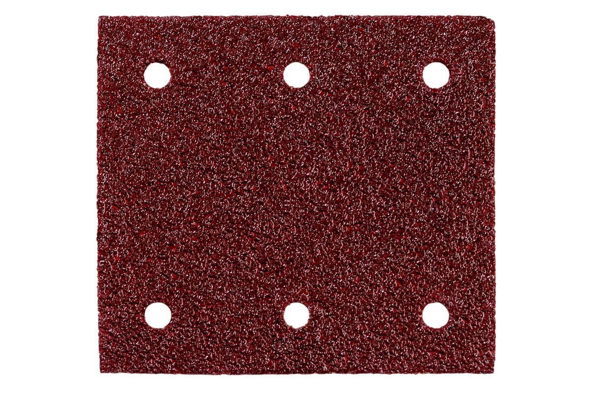10 шлифовальных листов на липучке 115x103 мм, P 80, H+M, SR (625621000)