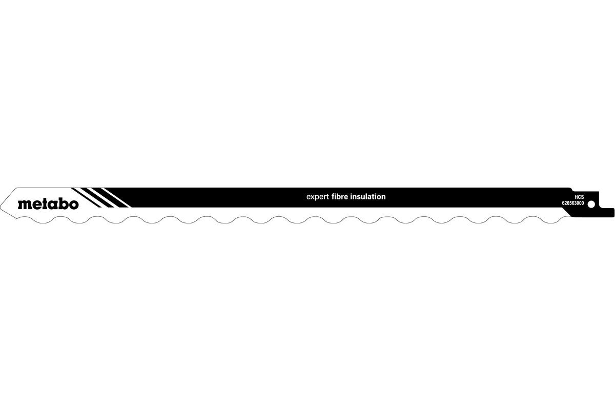 2 пилки для сабельных пил, серия «expert fibre insulation», 300 x 1,27мм (626563000)