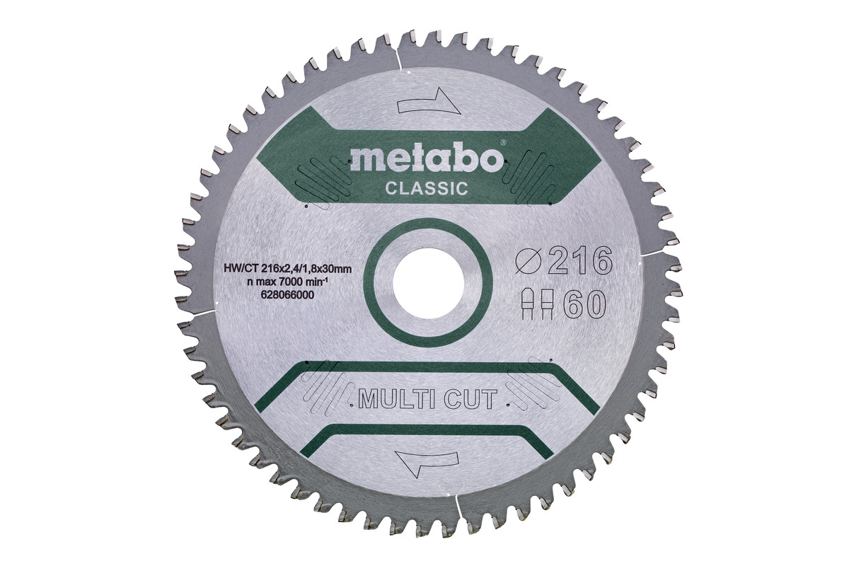 Пильное полотно «multi cut— classic», 305x30 Z80 FZ/TZ 5°neg /B (628667000)