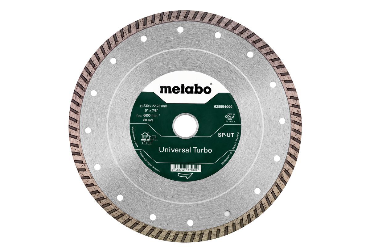 Алмазный отрезной круг 230x22,23мм, «SP-UT», универсальный Turbo «SP» (628554000)