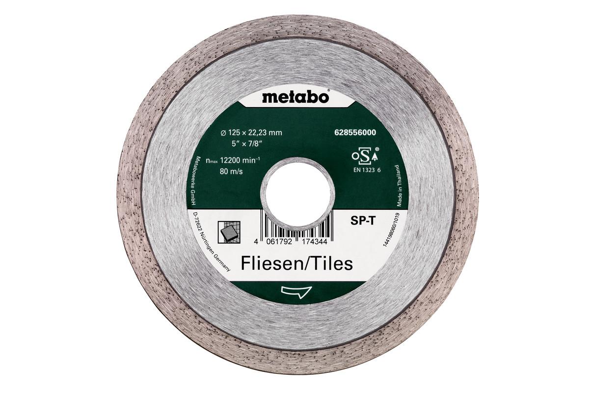 Алмазный отрезной круг- SP - T, 125x22,23мм, плитка (628556000)