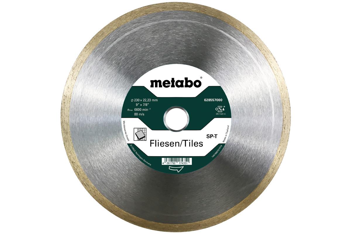 Алмазный отрезной круг 230x22,23мм, «SP-T», для плитки «SP» (628557000)