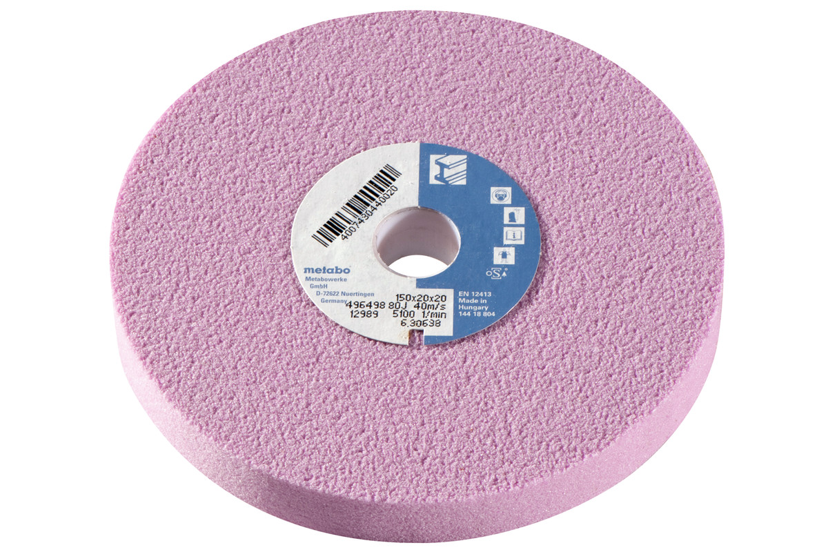 Шлифовальный круг 150x20x20 мм, 80 J, EK,Ds (630638000)