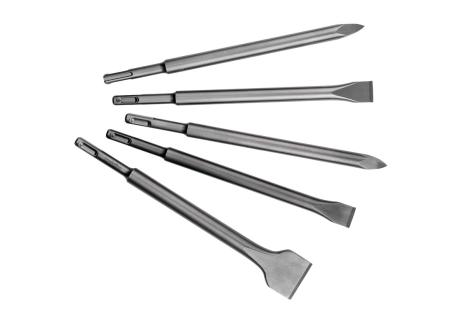 Комплект зубил SDS-plus, 5 предметов (630484000)