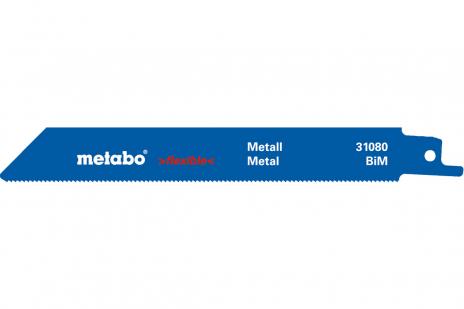 2 пильных полотна для сабельной пилы, металл, flexible, 150x 0,9 мм (631080000)