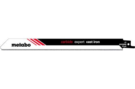 2 пильных полотна для сабельной пилы, сталь, expert, 225x 1,25 мм (631818000)