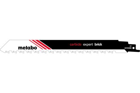 Пилка для сабельных пил, строительный кирпич, expert, 240x1,5 мм (631916000)