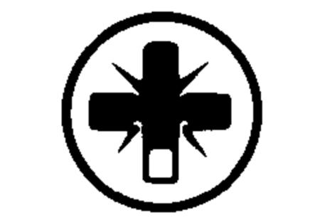 2 инструментальные насадки Torsion Pozidriv, разм. 3/25 мм (631526000)