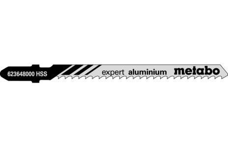 5 лобзиковых пилок, серия «expert aluminium», 74/ 3,0мм (623648000)