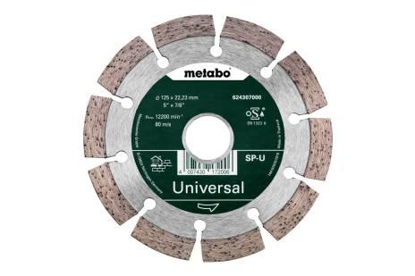 Алмазный отрезной круг 125x22,23мм, «SP-U», универсальный «SP» (624307000)