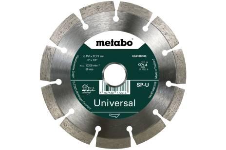 Алмазный отрезной круг 150x22,23мм, «SP-U», универсальный «SP» (624308000)