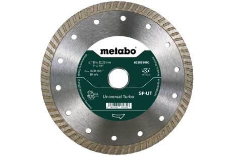 Алмазный отрезной круг 180x22,23мм, «SP-UT», универсальный Turbo «SP» (628553000)