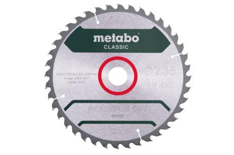 Пильное полотно «precisioncutwood— classic», 235x30 Z40 WZ 15° /B (628680000)