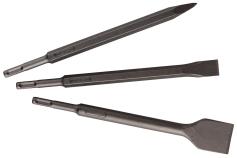 Комплект зубил SDS-plus, 3 предмета (630478000)
