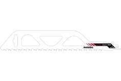 Пилка для сабельных пил, строительный кирпич, expert, 305x1,5 мм (631917000)