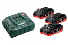 Базовый комплект 3 LiHD x 3,1 А·ч (685076000)