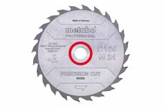 Пильное полотно «precision cut wood — professional», 160x20, Z24 WZ 20° (628031000)