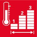 Три ступени нагрева    три ступени установки температуры— для низкого, среднего или сильного нагрева