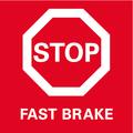 Быстрый тормоз    инерционный тормоз выбега для максимальной безопасности благодаря быстрой остановке инструмента.