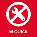 Metabo Quick - система быстрой замены инструмента   без ключа – быстро, удобно и надежно