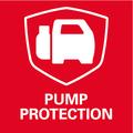 Система Metabo Pump Protection    автоматическая защита от сухого хода со светодиодным индикатором для защиты насоса и высокой безопасности при использовании