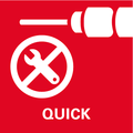 Система Metabo Quick    для быстрой смены патрона и насадки при проведении различных работ
