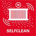 Функция самоочистки SelfClean    полуавтоматическая очистка фильтра в перерывах между включениями