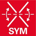 Уникальная, запатентованная комбинация из панельной пилы с функцией протяжки и прецизионной реечной пилы с системой симметрично регулируемых упоров