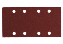 Självhäftande slipark 93 x 185 mm, 8 hål, med kardborryta