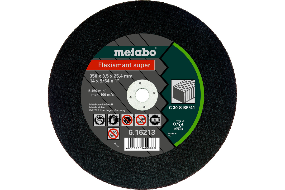 Flexiamant super 350x3,5x25,4 sten, TF 41 (616213000)