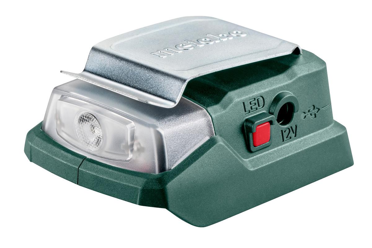 PowerMaxx PA 12 LED-USB (600298000) Batteridriven Power-adapter