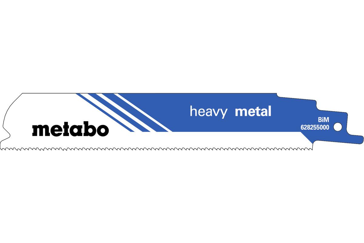 """5 tigersågblad """"heavy metal"""" 150 x 1,1 mm (628255000)"""