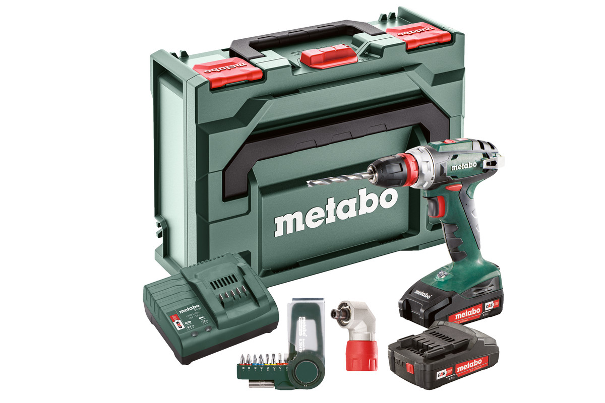 BS 18 Quick Set (602217870) Batteridriven borrskruvdragare