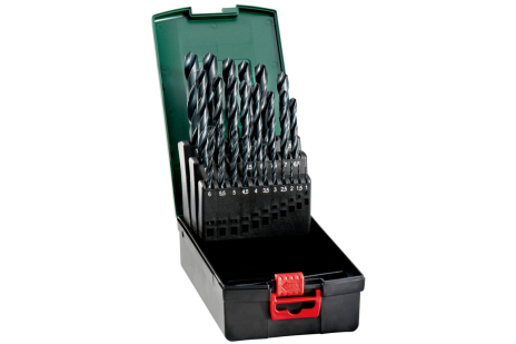 HSS-R-borrkassett, 25 delar (627159000)