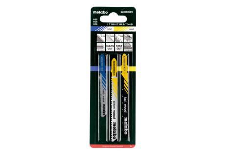 Sticksågbladssortiment 1,trä+metall,3 delar (623968000)