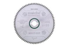 """Sågblad """"multi cut - professional"""", 254x30, Z80 FZ/TZ, 5° (628093000)"""