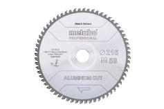 """Sågblad """"aluminium cut - professional"""", 254x30 Z72 FZ/TZ 5°neg (628447000)"""