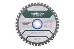 """Sågblad """"steel cut - classic"""", 165x20 Z40 FZFA/FZFA 4° /B (628651000)"""