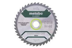 """Sågblad """"cordless cut wood - classic"""", 216x30 Z40 WZ 5° /B (628654000)"""