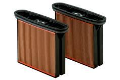 2 filterkassetter, cellulosa, dammklass M (631933000)