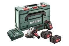W 18 LTX 125 Quick Set (602174960) Batteridriven vinkelslipmaskin