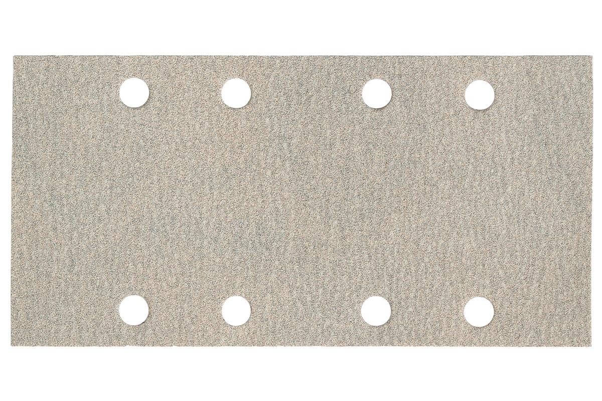 25 samopritrdilnih brusnih papirjev 93x185 mm,P 80,barva,SR (625883000)