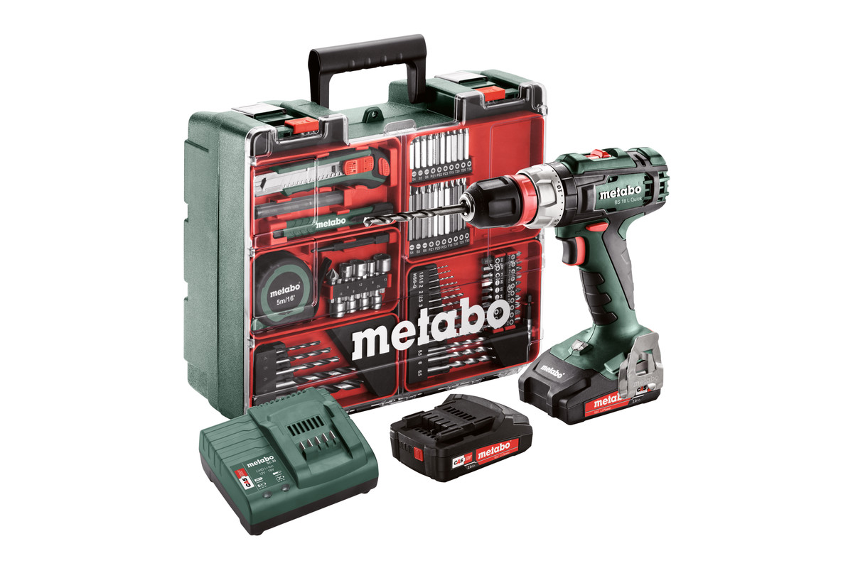 BS 18 L Quick Set (602320870) Baterijski vrtalnik / vijačnik