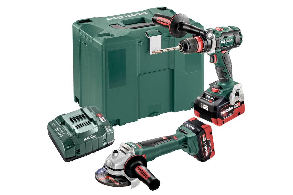 Combo Set 2.4.5 18 V BL LiHD (685094000) Baterijski stroji v kompletu