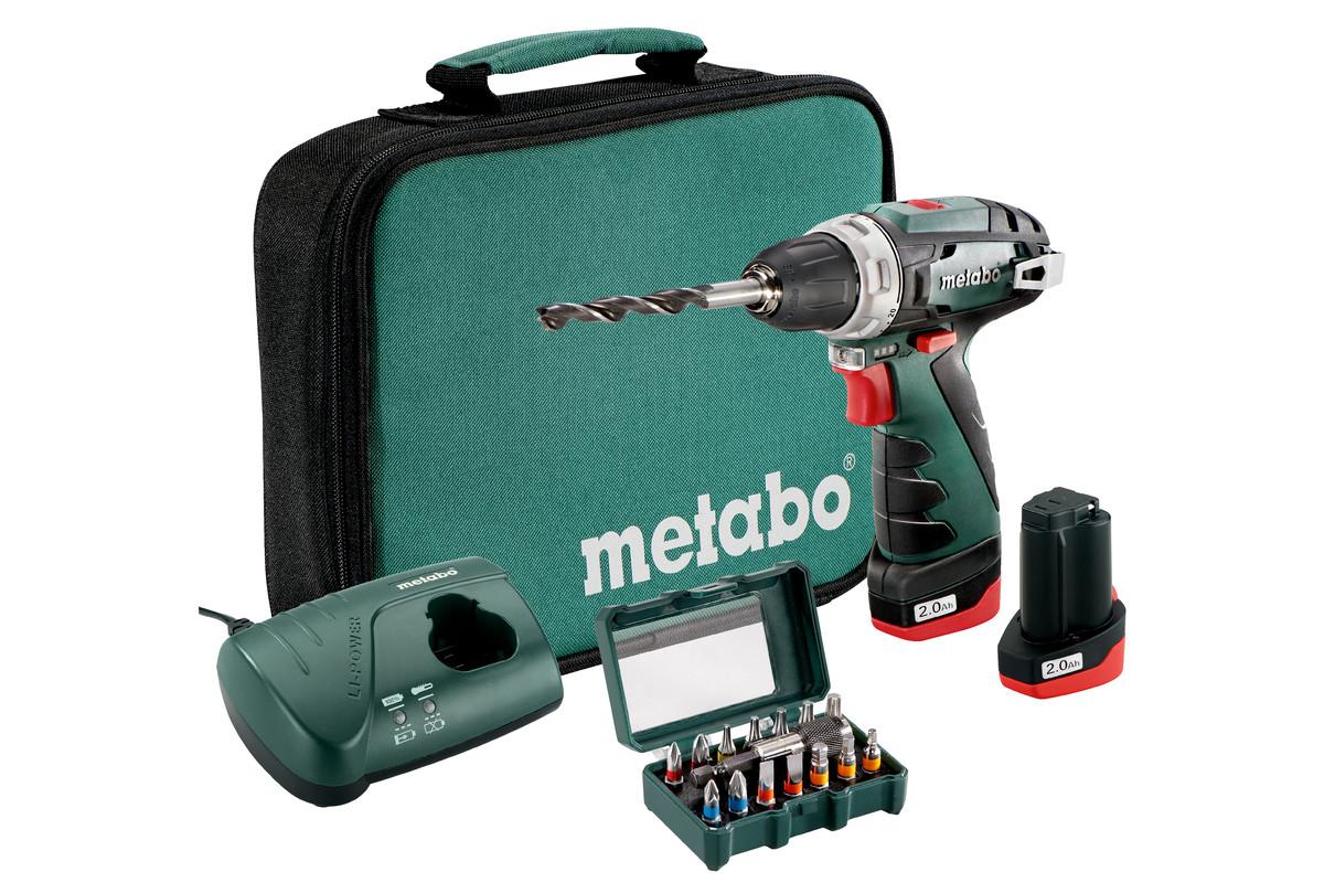 PowerMaxx BS Set (600079510) Baterijski vrtalnik / vijačnik