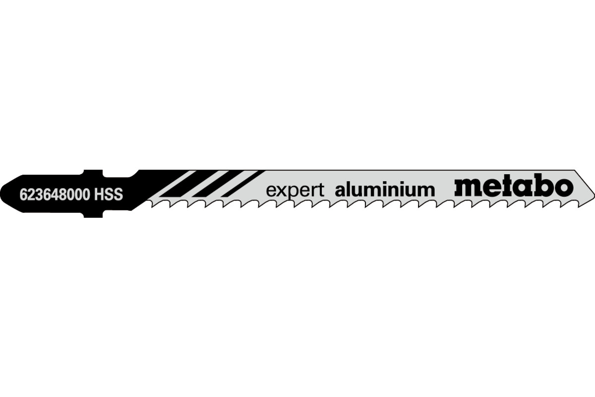 "5 listov vbodne žage ""expert aluminium"" 74/3,0mm (623648000)"