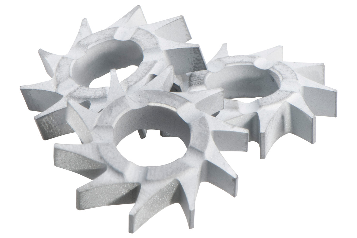 10 rezkalnih zvezd s ploskimi zobci RFEV 19-125 RT (628271000)